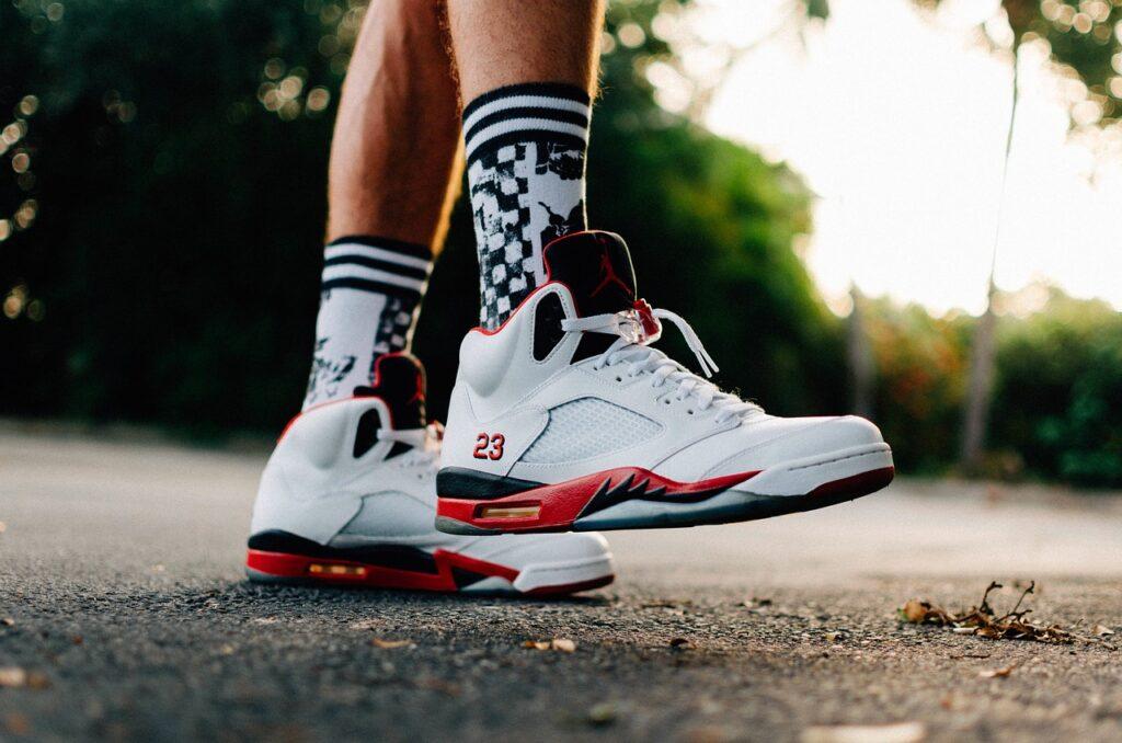 Air Jordans high top Sneakers